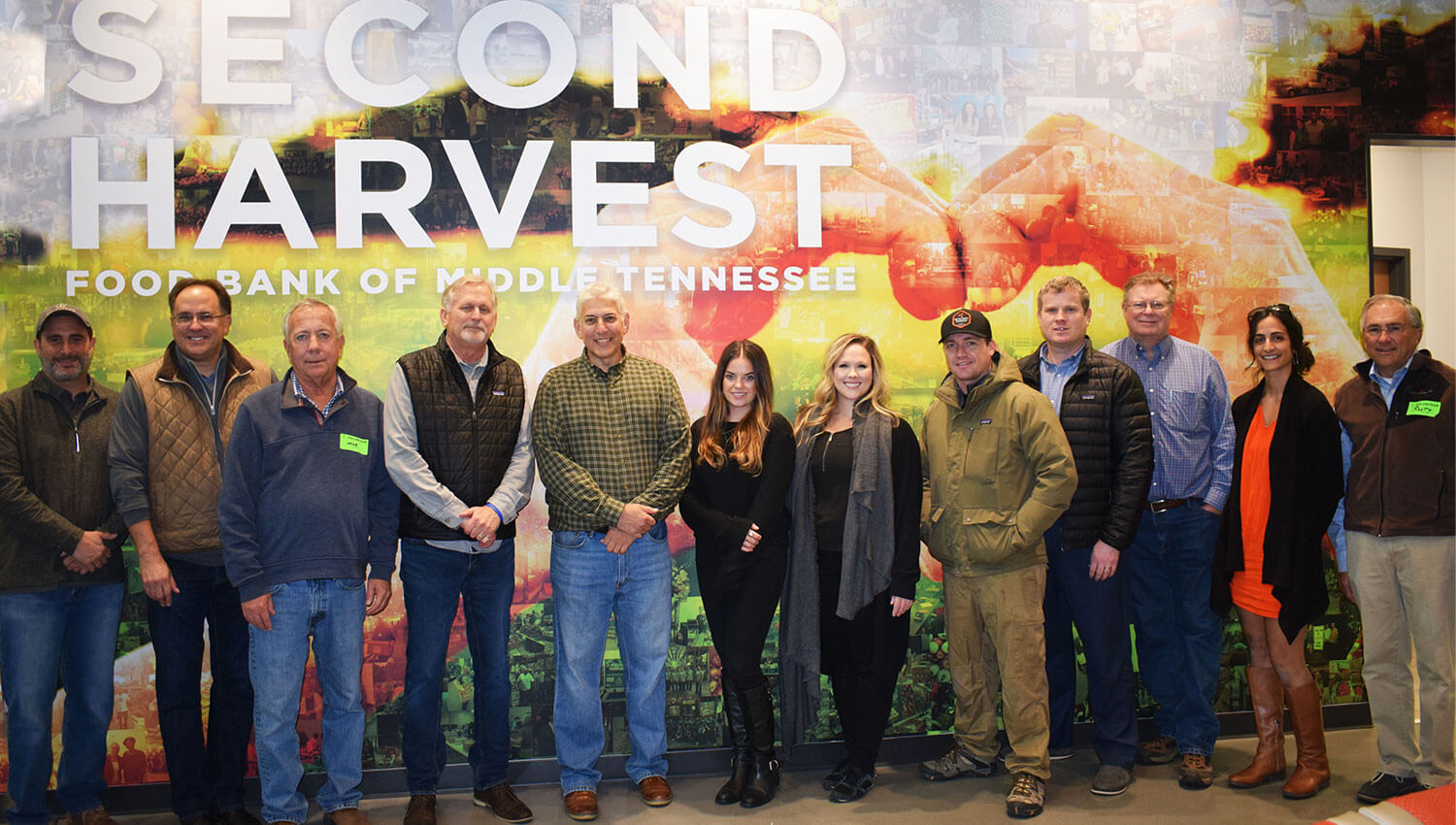 Red Seal Homes supports Second Harvest